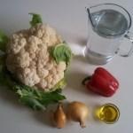 soupe de choux fleur : ingrédients