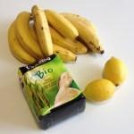 ingredients simples pour la confiture de bananes