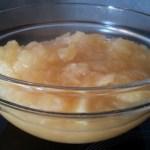 Compote de pommes naturelle et bio