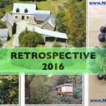 Rétrospective de l'année 2016 et des projets réalisés