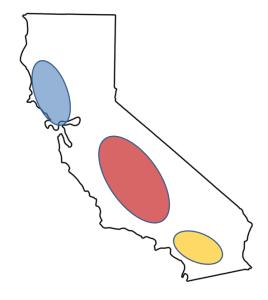 CA PD zones