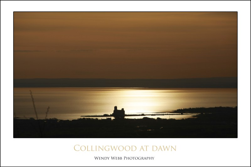 collingwood at dawn