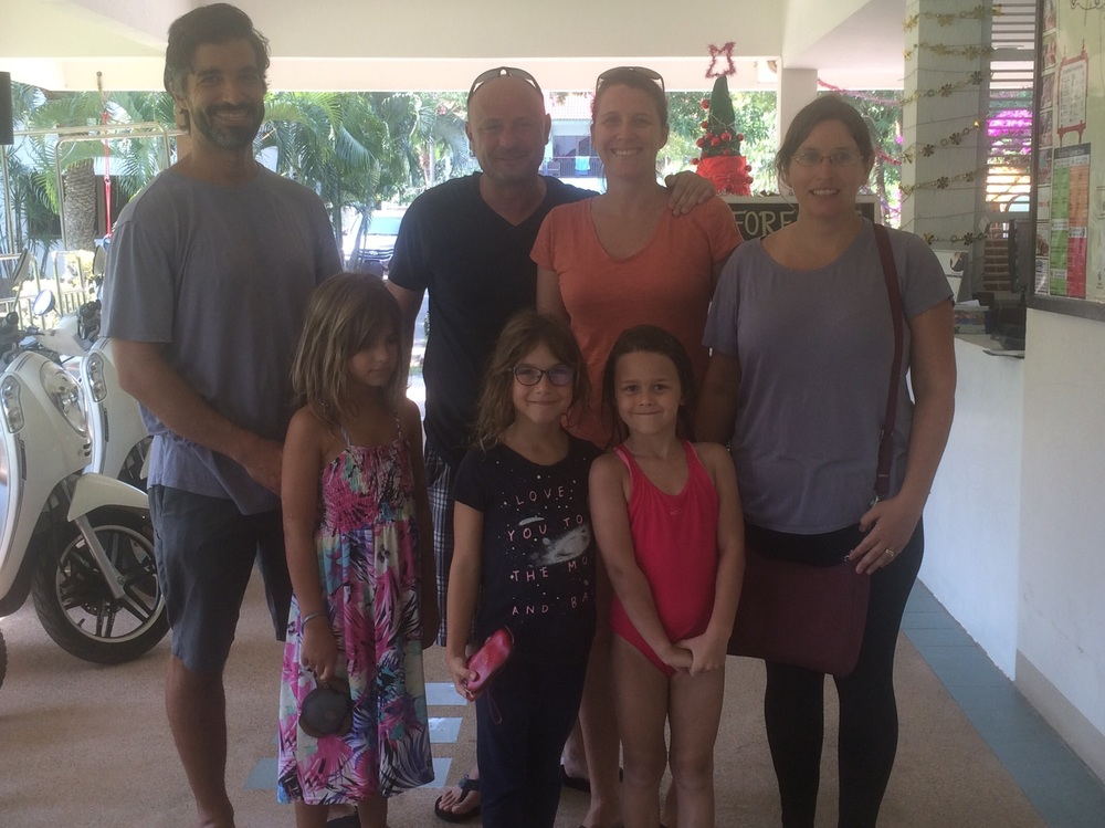 Us with Lily and her family. We may have to visit them in Shanghai some day!