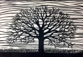 burr-oak-print-copyright-carrie-carlson