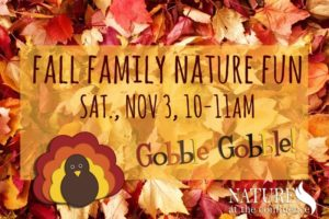 Fall Family Nature Fun @ Nature At The Confluence Campus