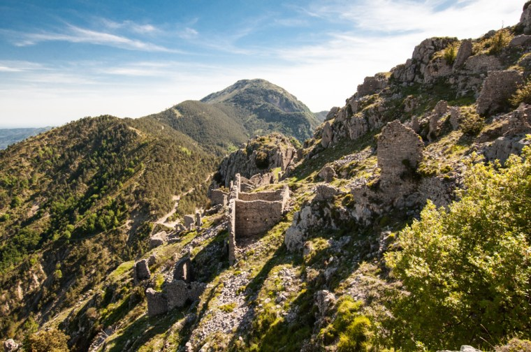 Ruines de Rocca Sparviera
