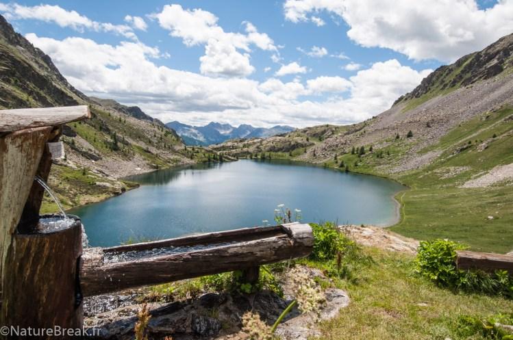 Refuge de Vens et lac