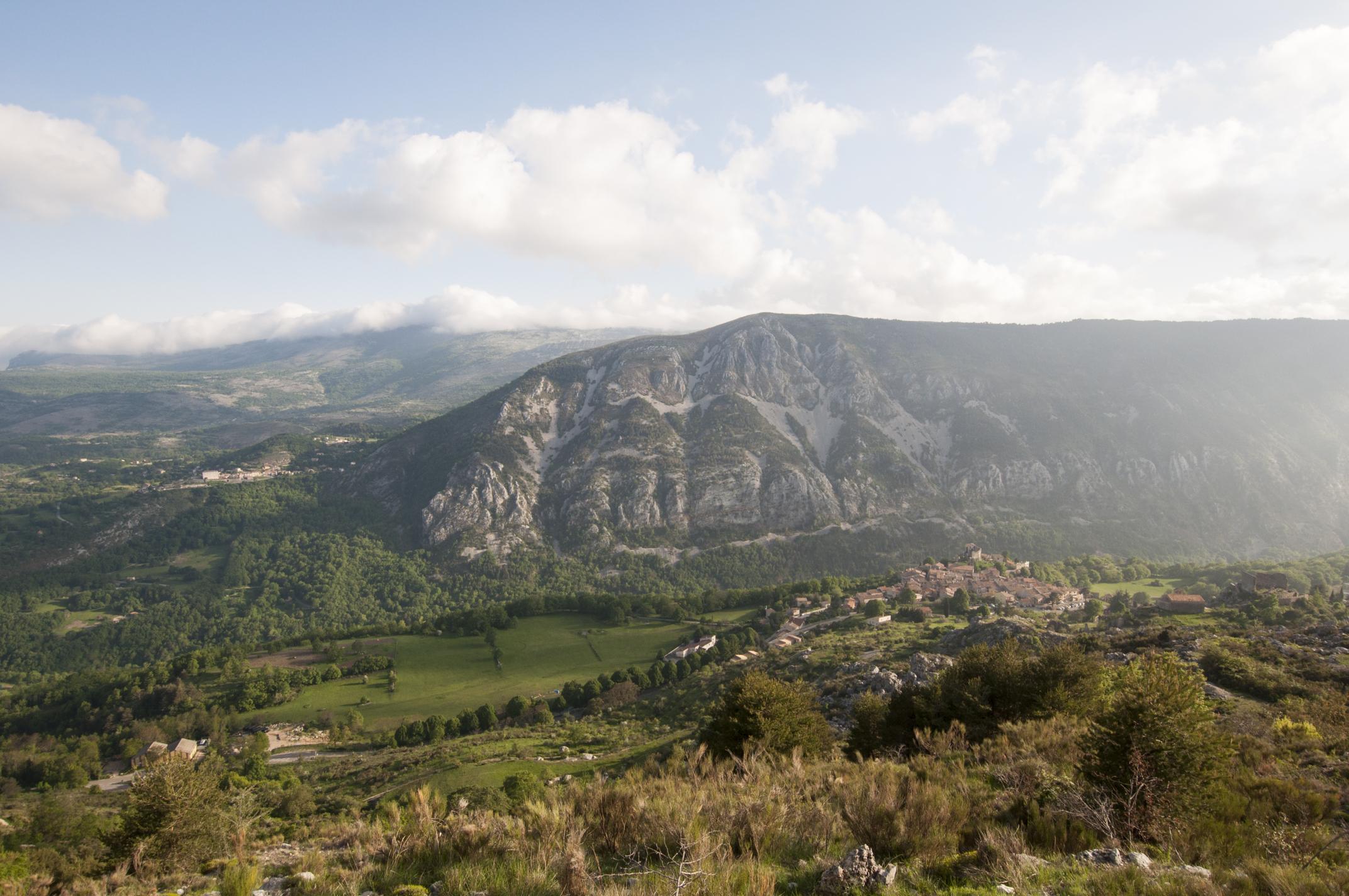 Vue de Gréolières