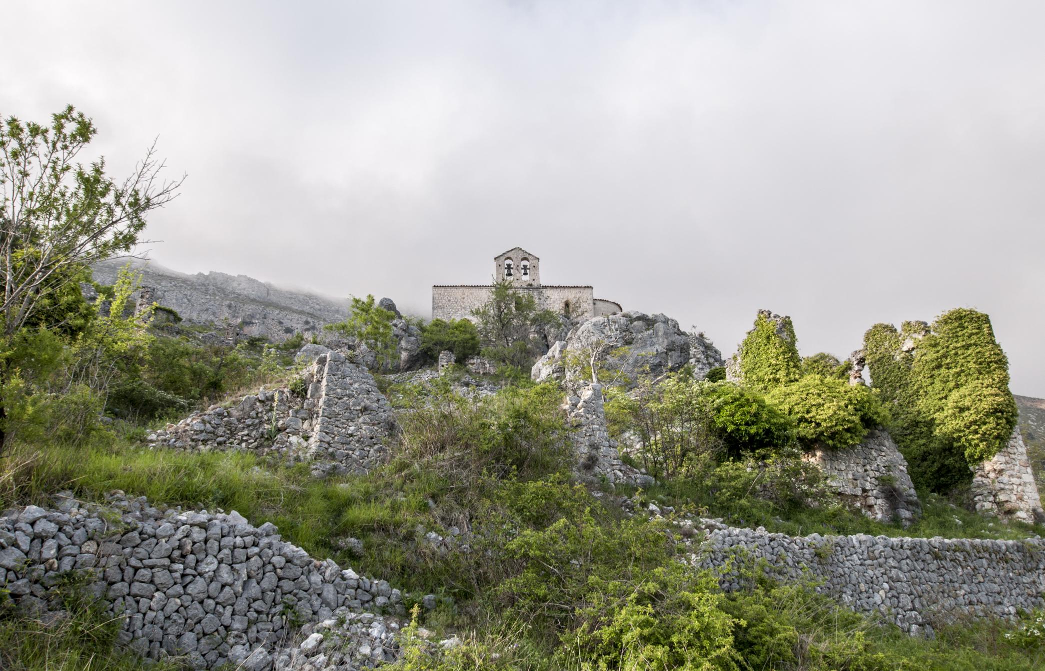 Église Saint-Étienne de Gréolièresdu Cheiron