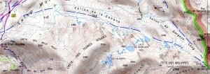 Trek - lac de Vens et lacs de Morgon