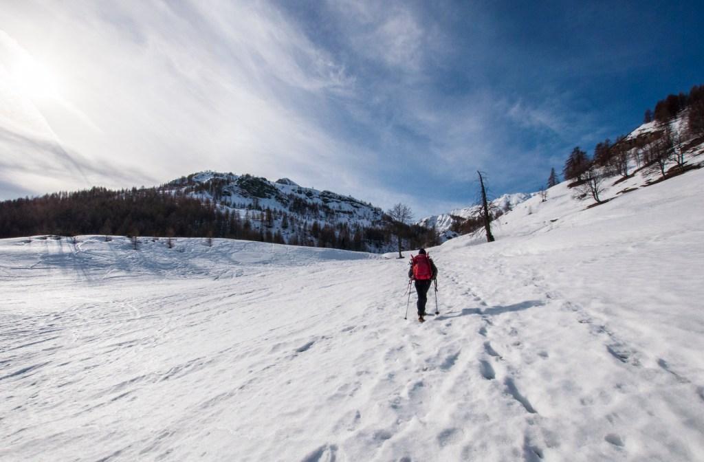 Montée vers le vallon de l'Alp