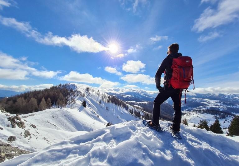 Le mont Brussière et le sommet du Countent