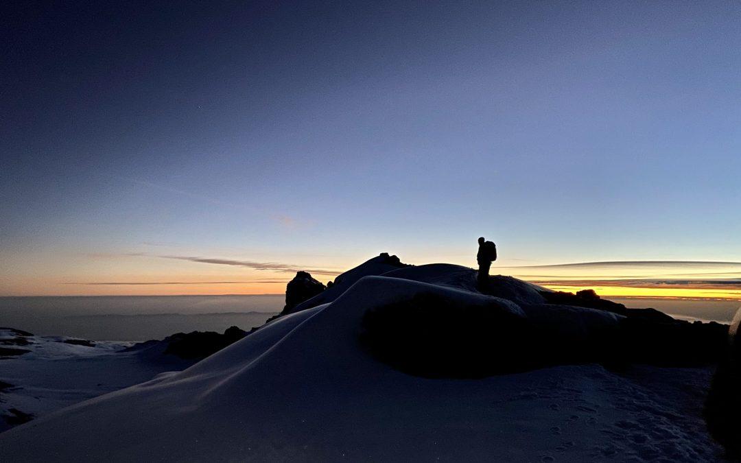 Årets första Guidning på Kilimanjaro 2020