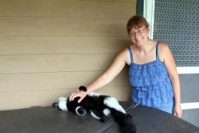 Zoo Mom and Poppi