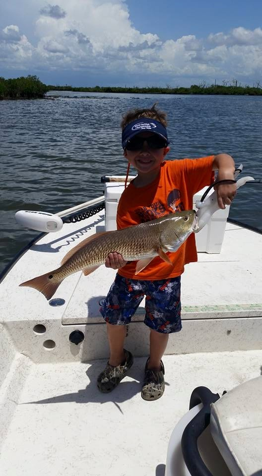 Anglers of all sizes love Homosassa's fishing!