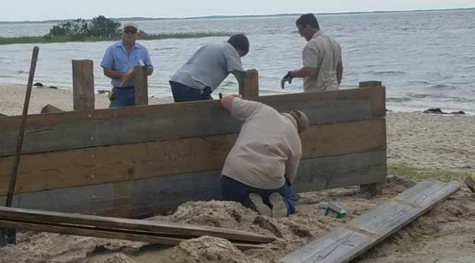 Fort Island Gulf Beach Park Reopens