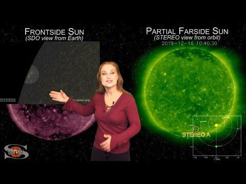 A Fleeting Sunspot & A Familiar Hole | Space Weather News 12-19-2019