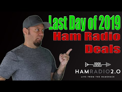 End of 2019 Deals for Ham Radio