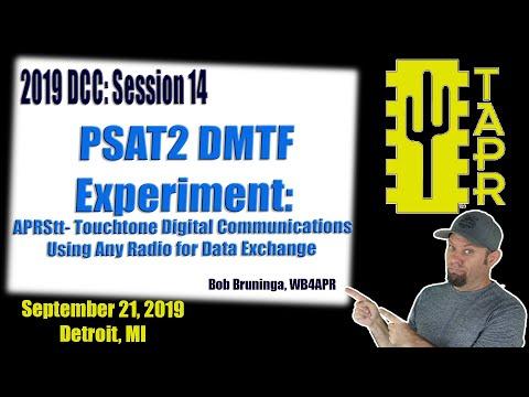 PSAT2 DTMF Experiment APRStt Touchtone Digital Communications