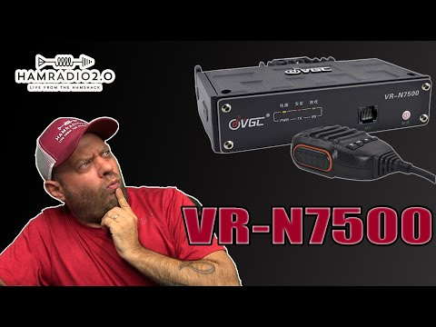 VeroTel VR-N7500 Android Controlled Mobile Radio
