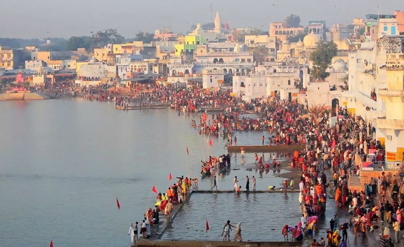 Image result for Ghats and Lakes PUSHKAR HD IMAGES