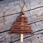 Christmas Craft - Twig Christmas Tree decoration