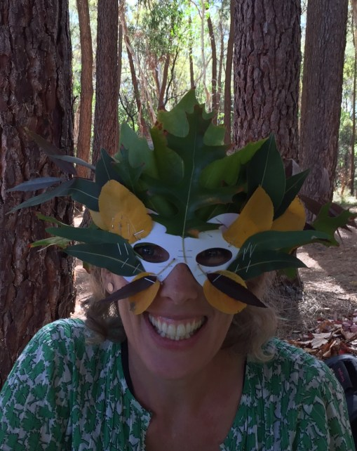 Nature Mask at Forest Festival