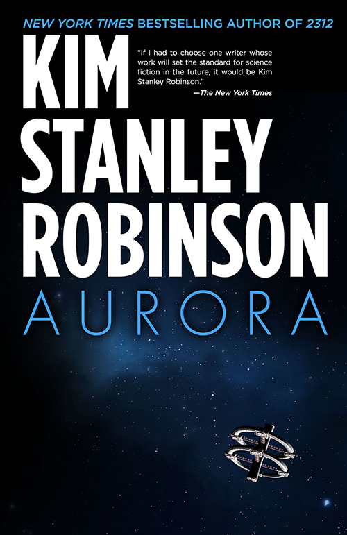 "Cover of the novel ""Aurora."""