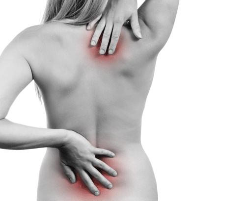 Douleurs dos gel de massage
