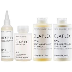 OLAPLEX komplekt 0 3 4 5 šampooni ja palsamiga