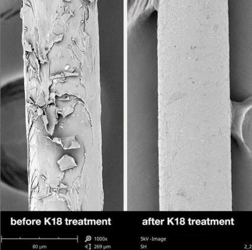 enne ja parast K18 maski kasutamist