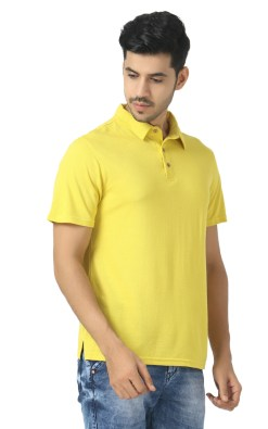 Naturefab Bamboo clothing Sustainable sheen green Polo T shirt 6