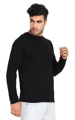Naturefab Mens Bamboo Sun UV Protective Clothing Full sleeve T Shirt Black 3