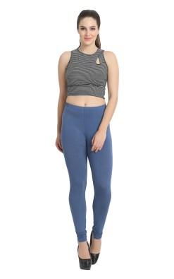 Naturefab Womens Sustainable Bamboo Fashion Leggings BLue 4