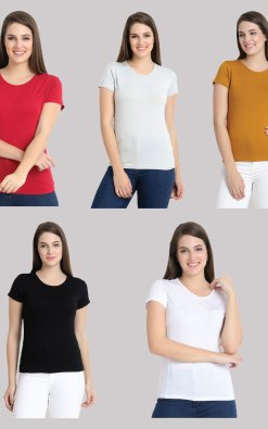 tshirt combo pack of 5