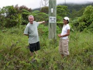 Hilda Waqa (Entomologist of the South Pacific Regional Herbarium