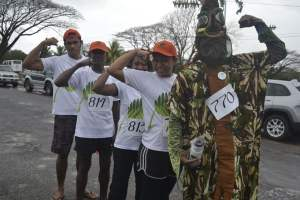 Team Drautabua at the 2015 Island Chill Suva Marathon on August 4th.