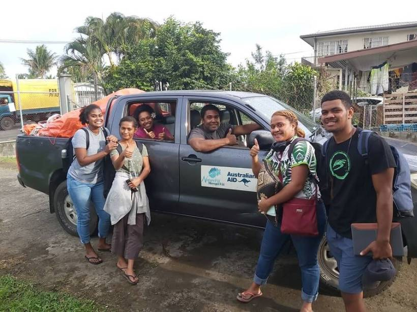 NatureFiji-MareqetiViti Club members fund the search for our Kulawai