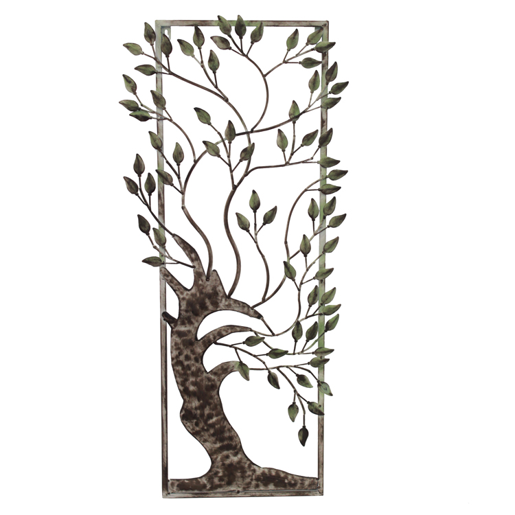 Quadro Árvore (38x2,5x87cm) - bronze