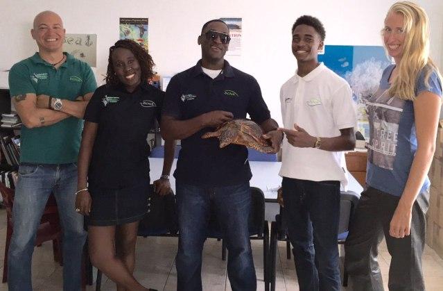 nature foundation sxm staff