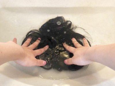 簡単に洗えるナチュレーヌウィッグ