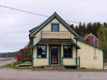 The beach cafe at Spencer's Island, Nova Scotia, Canada.