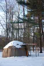 Wigwam in Winter