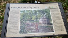 Lenape Educational Sign