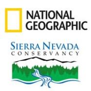 portfolio, Sierra Nevada Conservancy, CA historical landmarks, history, narratives, economic impact, communities, National Geographic, Sierra Nevada