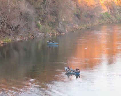 morning, Fair Oaks, Fair Oaks Bridge, American River, fishing, boat, observation, nature, outdoors, writing, chill, fishermen