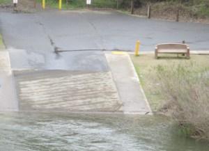 boat launch ramp, flood, American River, photos