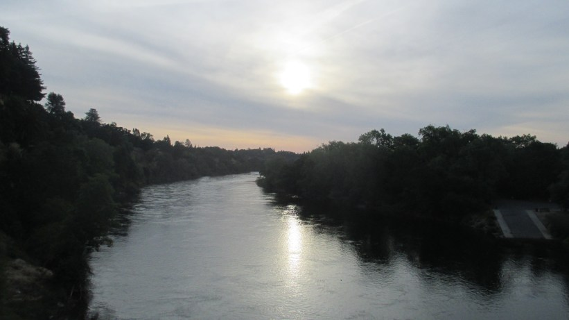 sunrise, morniing, Fair Oaks Bridge, nature, outdoors, writing, peace, beauty,shadows,