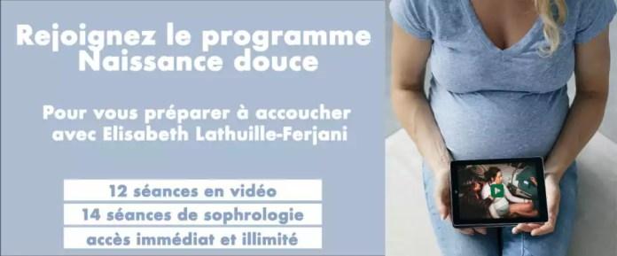 programme de préparation virtuel à l'accouchement