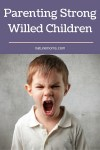 Parenting Strong Willed Children